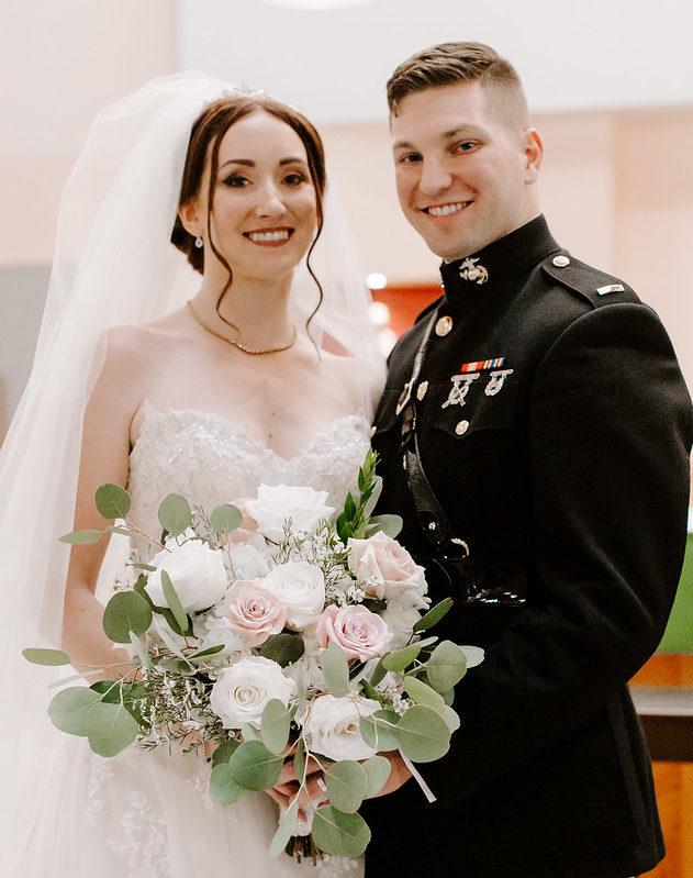 KRISTIN AGUSTSSON WEDS CHARLES VALENZA